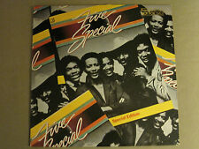 FIVE SPECIAL SPECIAL EDTION LP OG '80 WLP PROMO SYNTH FUNK MODERN SOUL DISCO VG+