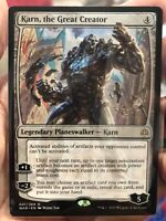 MTG Magic the Gathering Karn the Great Creator War of the Spark x1 NM