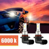 2x 9005 HB3 Kit ampoules phare voiture LED Canbus blanc xénon sans erreur LB