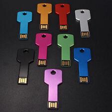32GB USB 2.0 Storage U Disk Flash Memory Stick Thin Metal Key Pen Drive Tools