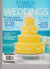 COASTAL LIVING WEDDINGS MAGAZINE 2014, FABULOUS RECEPTIONS ON THE SHORE