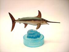 Kaiyodo Glico Aquatales Aquarium Black Tide Swordfish Sword Fish Figure Rare!