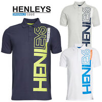 Henleys Mens Crowder Classic Polo Top Casual Collared Pique Short Sleeve T-Shirt