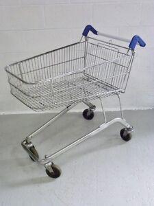 Supermarket Shopping trolley warehouse picking