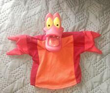 Sebastian Lobster Crab The Little Mermaid Hand Puppet Disney
