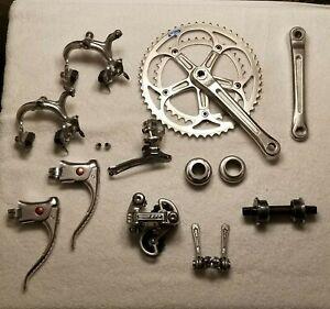 Vintage Shimano 600EX Bicycle mini Groupset - Arabesque RD-6200