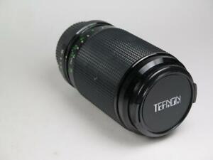 TEFNON H/D-MC 75-205mm Macro Zoom Lens in Case Minolta MD Fitting Appears Unused