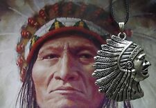 COLLANA INDIANI D'AMERICA USA NAVAJO UNITED STATES APACHE GERONIMO NATIVE CAS:C