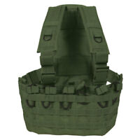 Tactical Military Commando Chest Rig Mag Carrier & Hydro Pack  - OD Olive Drab