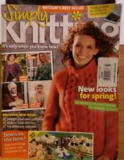 Jay100 Simply Knitting Magazine, March 2007 #25