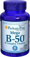 Puritan's Pride Vitamin B-50 Complex 250 Caplets Energy Metabolism
