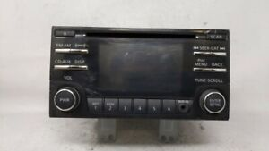 2012-2015 Nissan Rogue Am Fm Cd Player Radio Receiver 94370