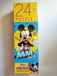 "Disney Mickey Mouse Children's Puzzle 24 pcs 9x10 NIB 5+ ""MM 1928"""