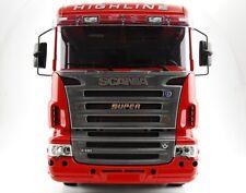 Für Tamiya Scania 1:14 Modellbau Trucks S-u-p-e-r Logo Emblem Edelstahl Muster