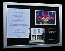 MUMFORD & SONS WHITE BLANK PAGE LTD QUALITY CD FRAMED DISPLAY+FAST GLOBAL SHIP!!