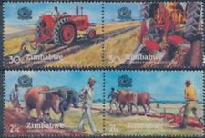 Zimbabwe - 1983 - Sc 462 - 63 - World Plowing Contest VF MNH