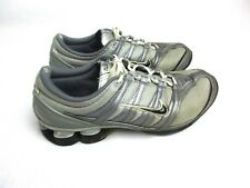 Nike Shox women's size 8 Silver and Gray Athletic Tennis Shoes