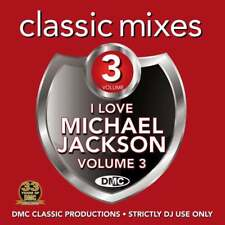 DMC Michael Jackson Vol 3 Megamixes & 2 Trackers Remixes Ft Chris Brown DJ CD
