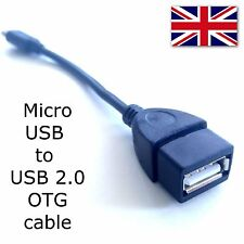 Mini USB to USB 2.0 OTG Cable OTG Adapter Adaptor For Smartphones