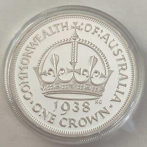 Australia Coinage 1938 Crown Pattern Macquarie Mint (3402206/A5)