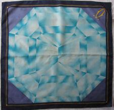 -Superbe foulard MUST DE CARTIER  soie   TBEG vintage scarf 82 x 85 cm