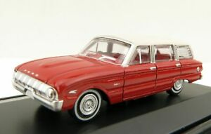 Road Ragers 1962 Ford XL Falcon Station Wagon in Woomera Red 1:87