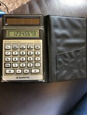 Sanyo Cx2700 Vintage Calculator