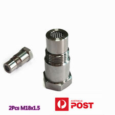 2X Stainless Steel M18x1.5 O2 90° Sensor Extension Spacer Remove Fault Connector