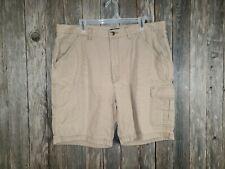 Wolverine Men's Beige Khaki Tan Cargo Shorts Size 40