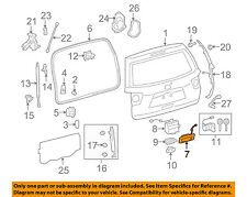 Trunk Lids Amp Parts For Toyota Sequoia For Sale Ebay