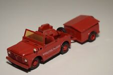 1:43 OLD-CARS FIAT CAMPAGNOLA FIRE CAR WITH TRAILER EXCELLENT CONDITION