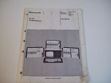 Honeywell 620-8995 Ipc621 I/O Specifications 620 Programmable User Manual