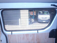 Toyota Hiace LWB, Side Window Load Protector, and Anti Theft Grill