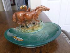 Vintage Napco Coin Dish - Fisherman's Wharf/San Francisco - Thoroughbred Horse