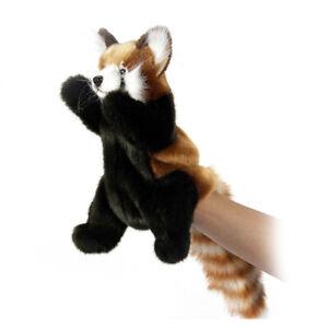 HANSA RED PANDA PUPPET REALISTIC CUTE SOFT ANIMAL PLUSH TOY 34cm **NEW**