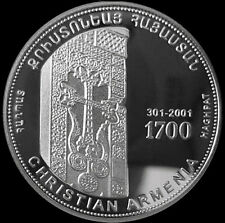 ARMENIA 1000 DRAM COIN PROOF 1998 Haghpat 1700th Anniversary Of Christianity