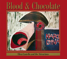 ELVIS COSTELLO & THE ATTRACTIONS BLOOD AND CHOCOLATE LP VINYL NEW 33RPM