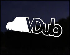 V DUB VW Camper Bus Transporteur Golf Polo Beetle Bug Sticker Autocollant Vinyle euro