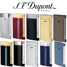More details for new st dupont slim 7 flat flame jet torch lighter gift box all colours uk seller