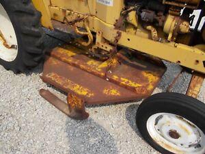 Woods belly mower complete / brackets belt International Cub 154 low boy tractor