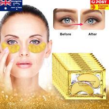 10 Pairs Gold Gel Anti-Wrinkle Dark Circle Collagen Under Eye Patches Pad Mask