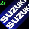 WHITE Suzuki decal srad 750 gsxr 600 katana 1000 sv moto gp sticker volusia 1500
