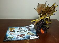 McFarlane's Dragons Lost King Series 3 Fire Dragon Clan with paper insert! Loose