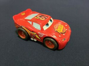 2005 Fisher Price Disney Cars LIGHTNING MCQUEEN 95 Red Shake 'n Go WORKS!