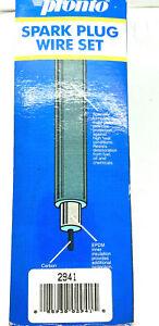 Spark Plug Wire Set Pronto 2941 For '82-86 Buick Oldsmobile Pontiac Models Below