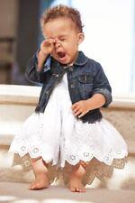 BABY GAP BABY GIRL 6-12 months WHITE EYELET sundress