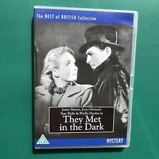 James Mason THEY MET IN THE DARK Spy War DVD RARE Phyllis Stanley David Farrar