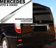 BAGUETTE HAYON POIGNEE COFFRE CHROME MERCEDES W639 VITO & VIANO 03-14 V6 4MATIC