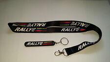 Peugeot 106 / 306 Rallye Lanyard & Key Ring