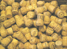 25 Natural Used Real Champagne Corks